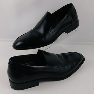 Stacy adams black waverly loafers men size 13 M